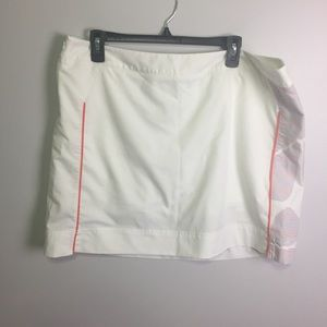 Adidas White Climacool Golf Skirt Size 16